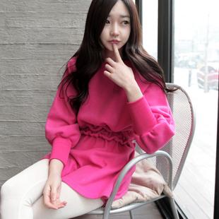 韩国代购秋装新款女装衣服2013 公主甜美宽松长袖连衣裙子 韩版潮