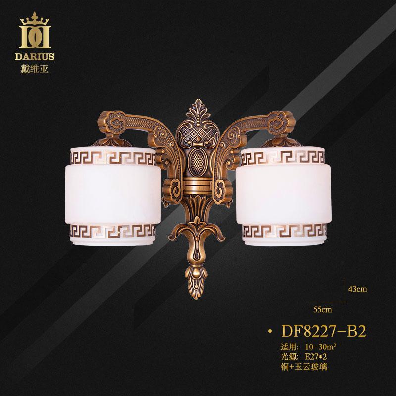 【戴维亚官网】新中式吊灯客厅餐厅卧室全铜灯现代仿