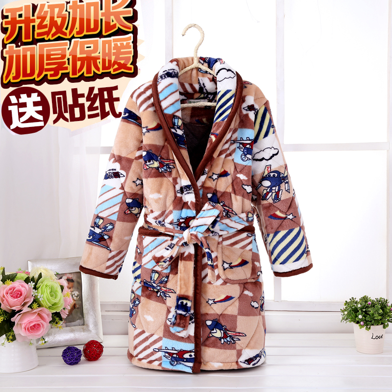 Color classification: Quilted padded robe l combat aircraft