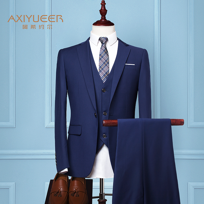Color: Royal Blue (suit + jacket + trousers)