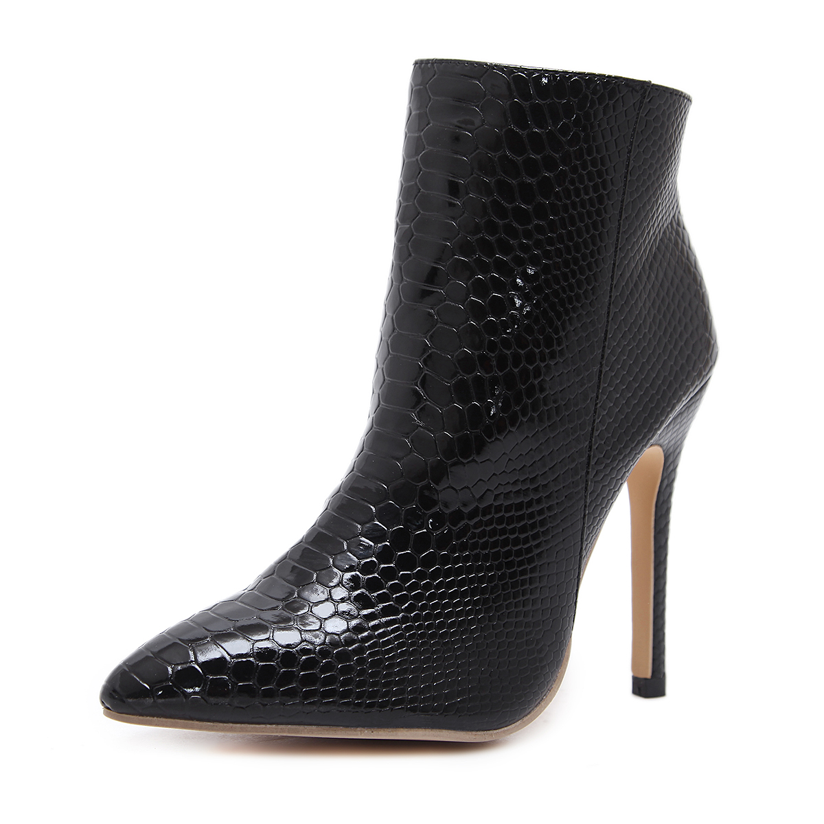 Classic serpentine style bare boots's main photo