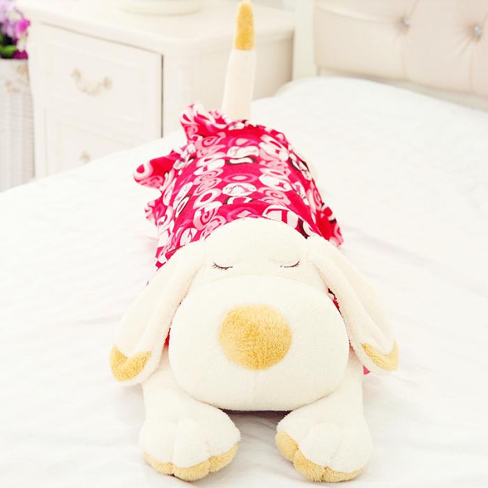毛绒玩具狗可爱趴趴狗狗抱枕睡觉枕头布娃娃玩偶