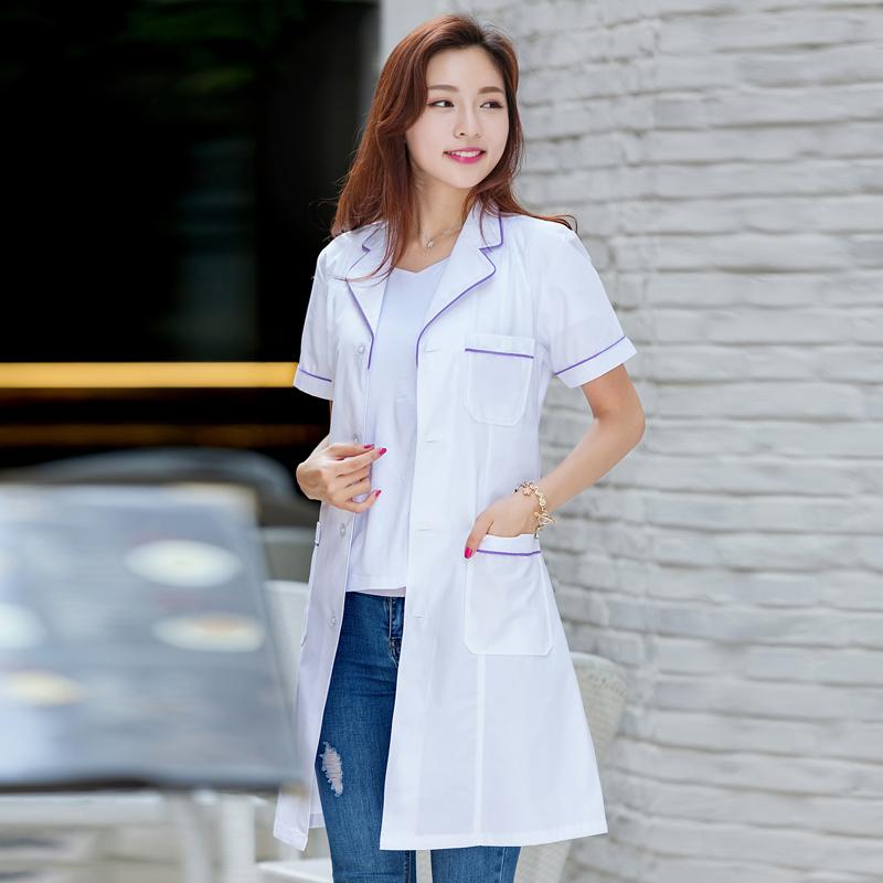 Цвет: женский Корейский Белый Фиолетовый окантовка (коротких рукавов круглый этикетки