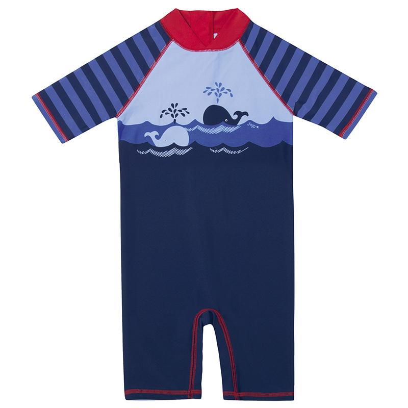 Цвет: Маленькие киты купальный костюм