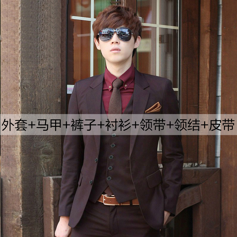 Color: Brown two-buckle