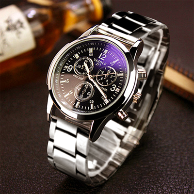Korean men 's sports fashion leisure belt trend of mechanical quartz watch students waterproof Korean simple watches
