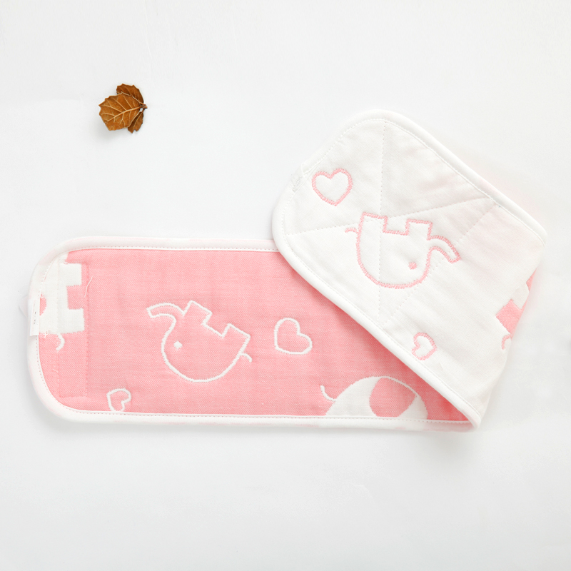 Color classification: 8 layers of gauze and cotton pink baby elephant