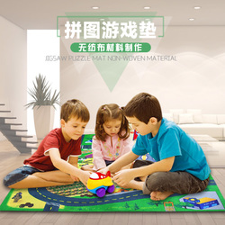 今日特价网宝宝环保爬行垫婴儿益智爬爬垫儿童拼图游戏毯拼接防滑送工程车
