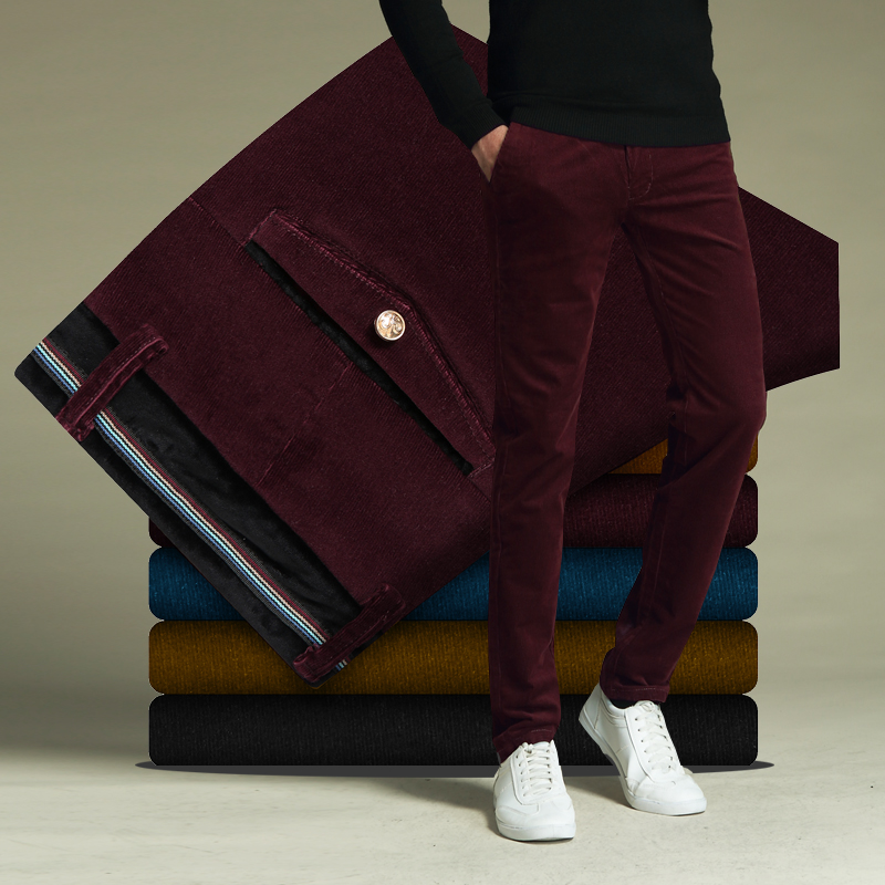 Color: Wine red without wool