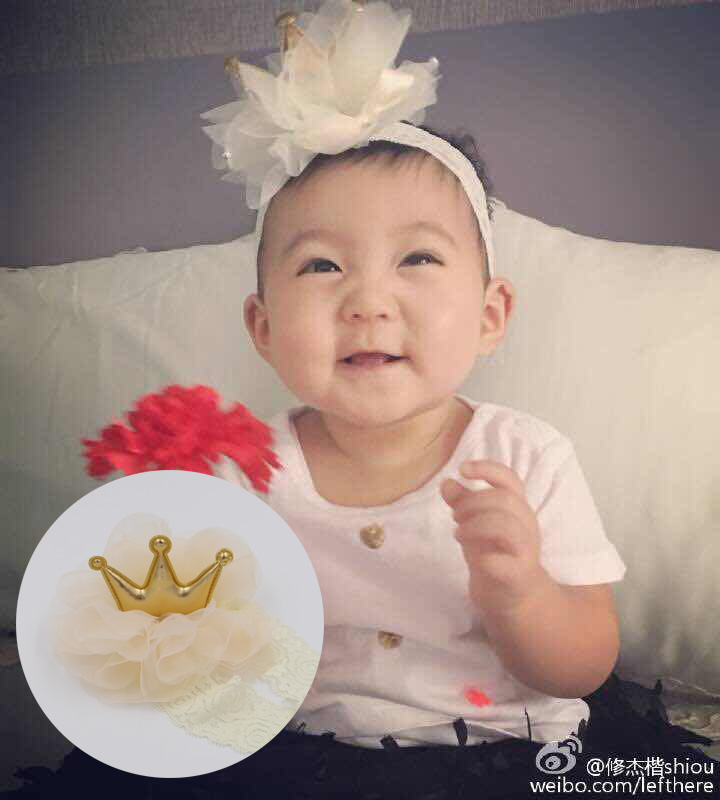 Color classification: BU Bu the same Crown headband-beige