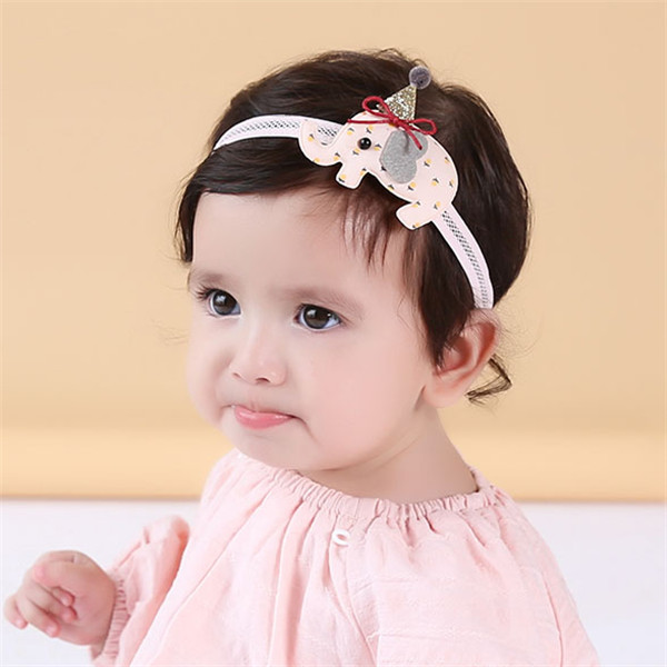 Color classification: Watermelon pink baby headband