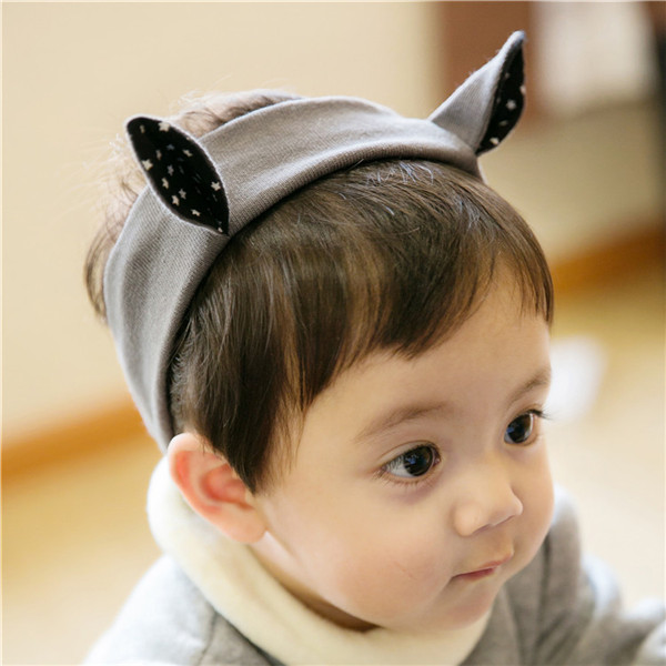 Color classification: Grey-grey wide ears headband