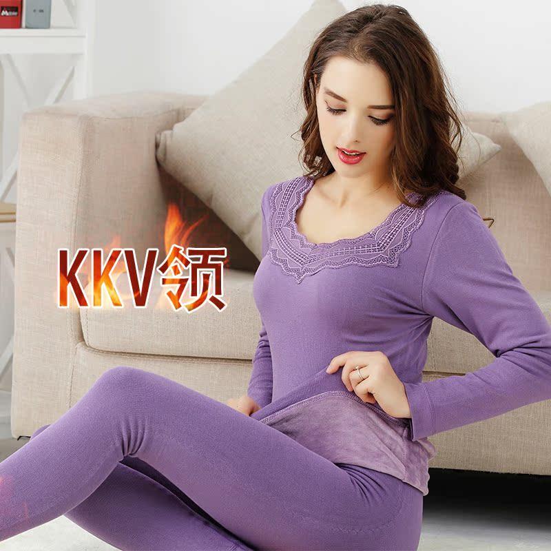 Цвет: Фиолетовый КК-V-образным вырезом