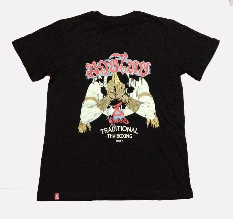 Цвет: T рубашки тайский бокс