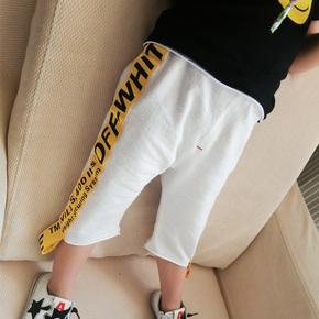 2017新款夏季儿童百搭裤