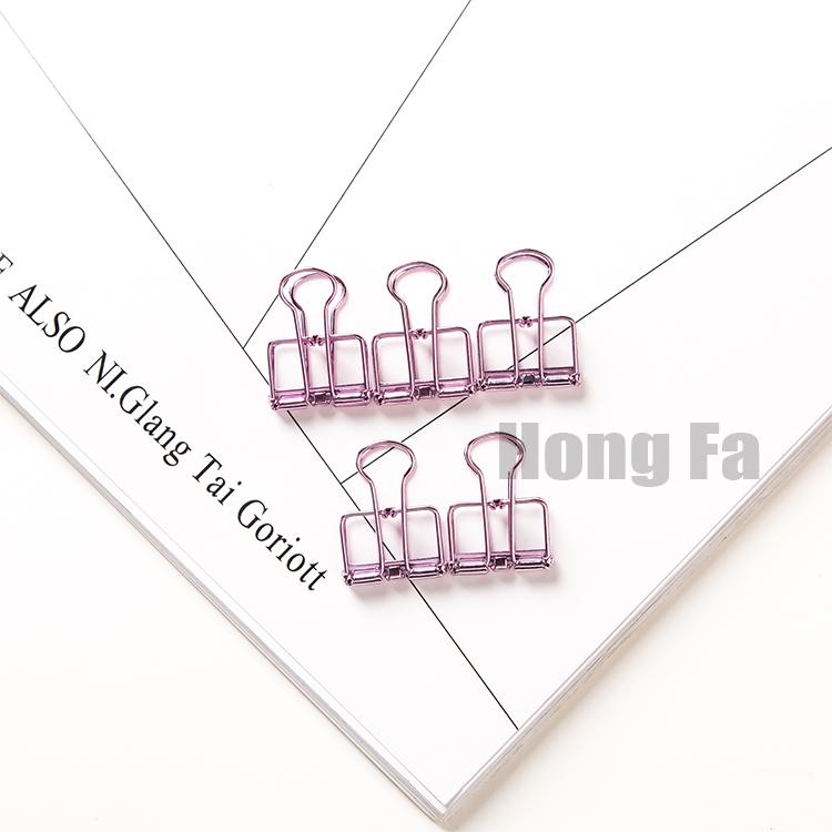 Цвет: Фиолетовые зажимы (5 шт)