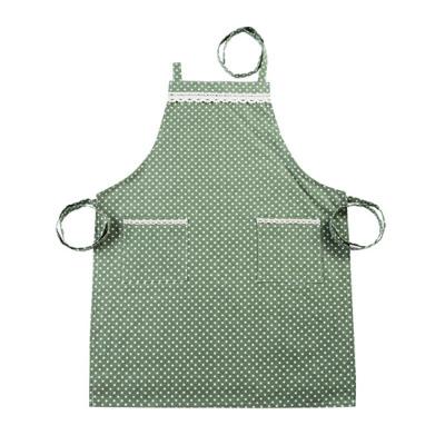 Cotton apron Japanese minimalist fashion oil cooking waist kitchen adult home waterproof gown