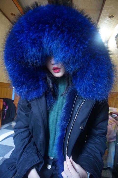 Цвет: [ ] Черное пальто Сапфир синий