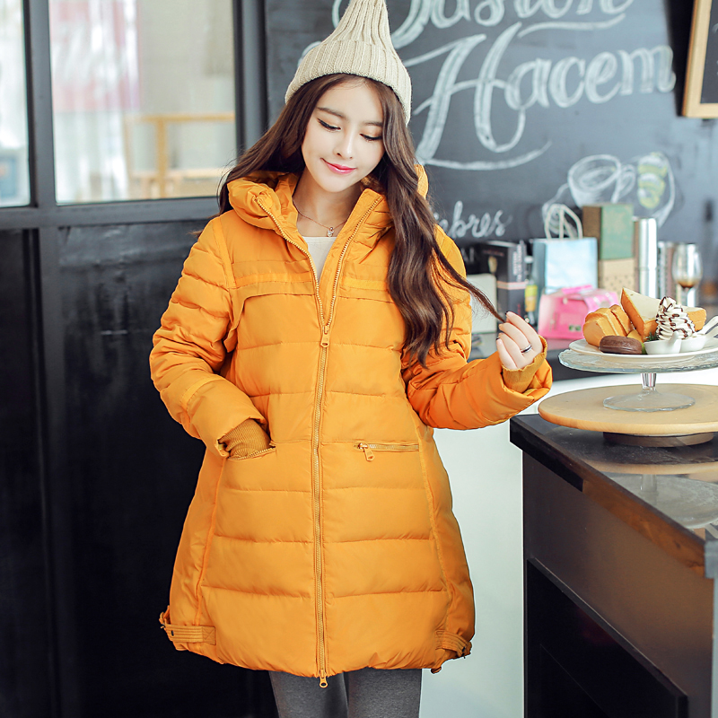 Зимние куртки пальто для беременных 732