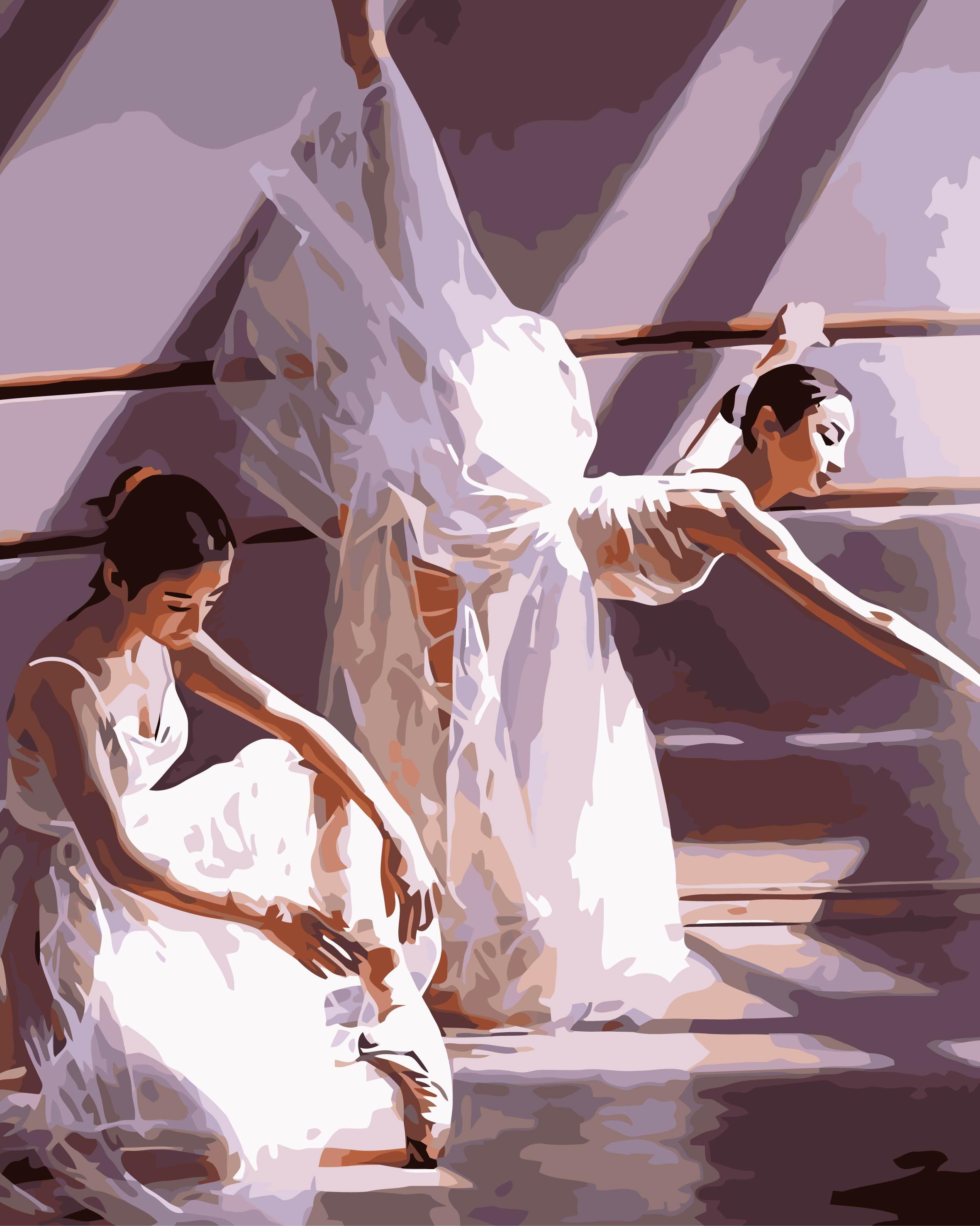 Что под юбками у танцовщиц 1 фотография