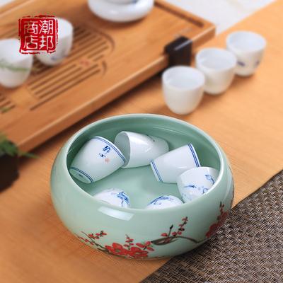青瓷笔洗功夫茶具配件