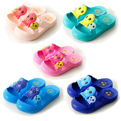 女童室内外可爱软底居家男童浴室洗澡防滑宝宝凉拖鞋