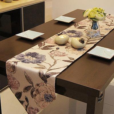 现代茶几桌布电视柜布盖布欧式田园餐桌布艺家居饰品