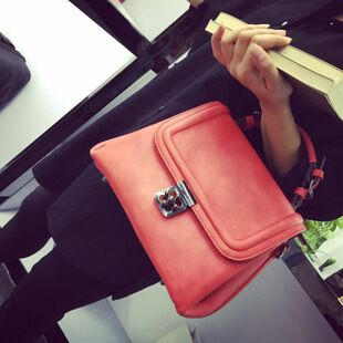 2015 new wave retro portable plum buckle handbags for fall winter spinlock package archives shoulder Crossbody bag