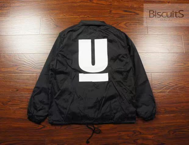 上海现货 UNDERCOVER COACH JACKET 大U 教练夹克 2015AW 黑色