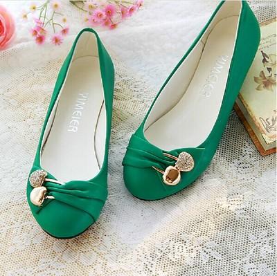 鞋櫃韓版公主水鑽淺口休閑女鞋子平跟單鞋平底鞋瓢鞋娃娃鞋四季鞋