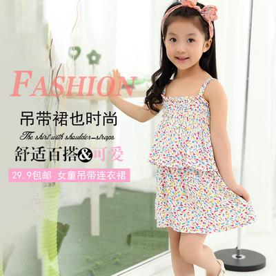 儿童连衣裙夏装1