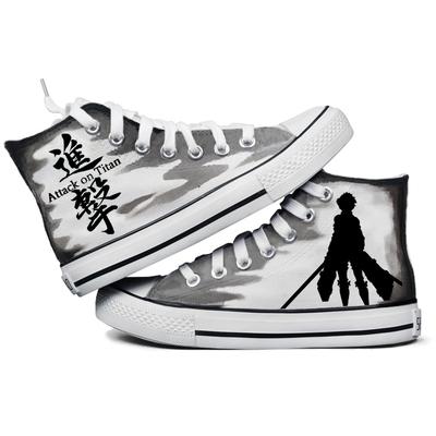 动漫人物手绘鞋