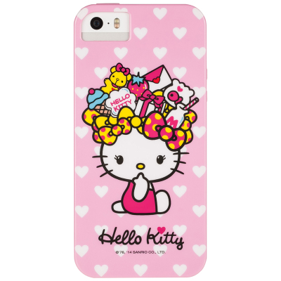 5s手机套 hello kitty