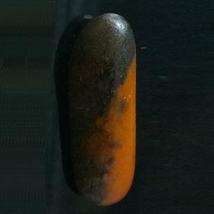 和田玉籽料原生黑皮黄玉籽料原籽