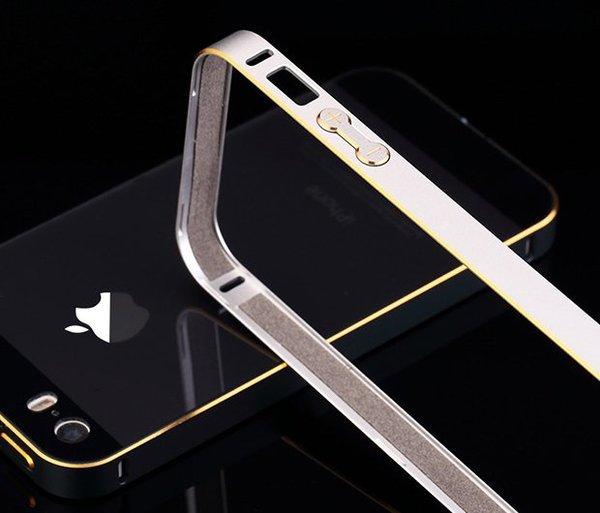 金属男女iphone5s金属边框简约薄
