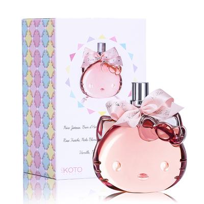 官方正品 法国Hello Kitty Party凯蒂猫派对女士持久清新淡香香水