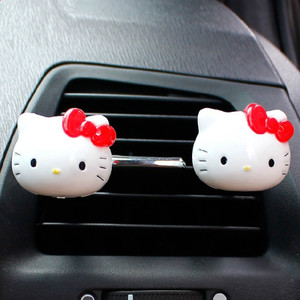 HelloKitty Hello Kitty cartoon clip automotive outlet perfume car interior in addition to smell one pair
