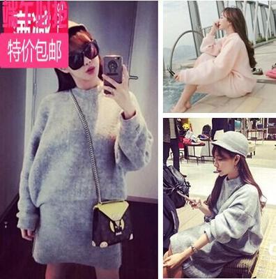 女装2016春秋新款韩版闺蜜姐妹装学生圣诞装新颖面料套装女