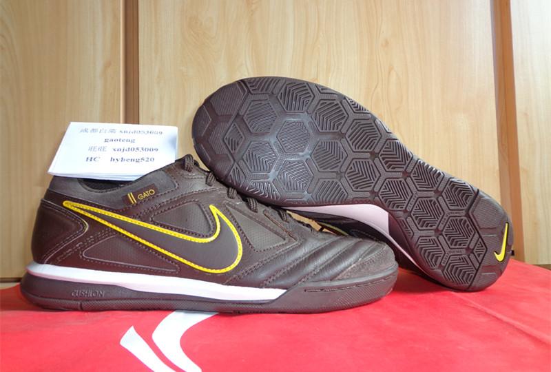 Nike Mens soccer shoes GATO LTR 415123-102; brand sale dc8fa bc799 Chengdu  cabbage Nike NIKE NIKE5 GATO LTR small soccer shoes 415123-