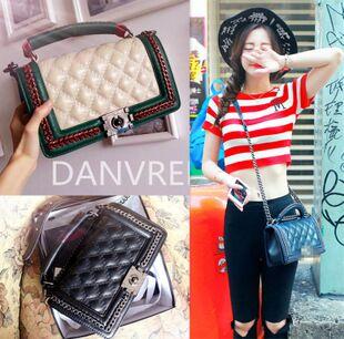 Female Bao Ling 2015 chain bag leather new fashion single diagonal shoulder bag handbag suede small fields breathe sweet bags