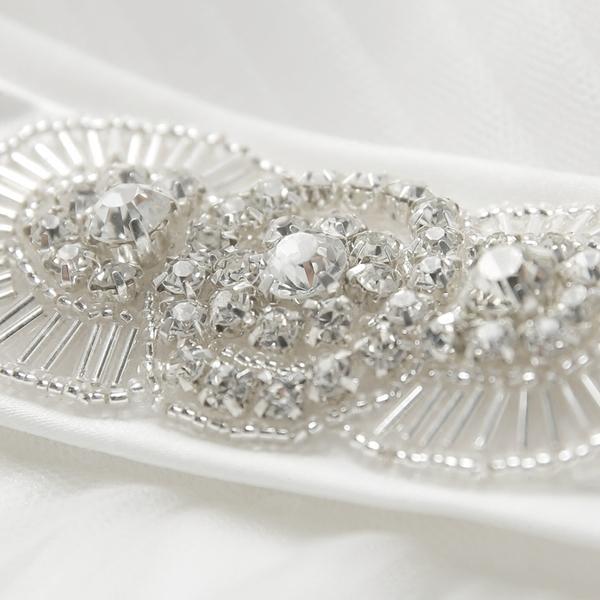 白色新娘伴娘結婚敬酒服長款婚紗晚宴年會禮服2015冬季新款292