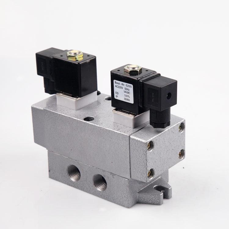 K25D2H-15K25D2H-6810253240 dwa pięć zawór elektromagnetyczny zawór podwójnej kontroli