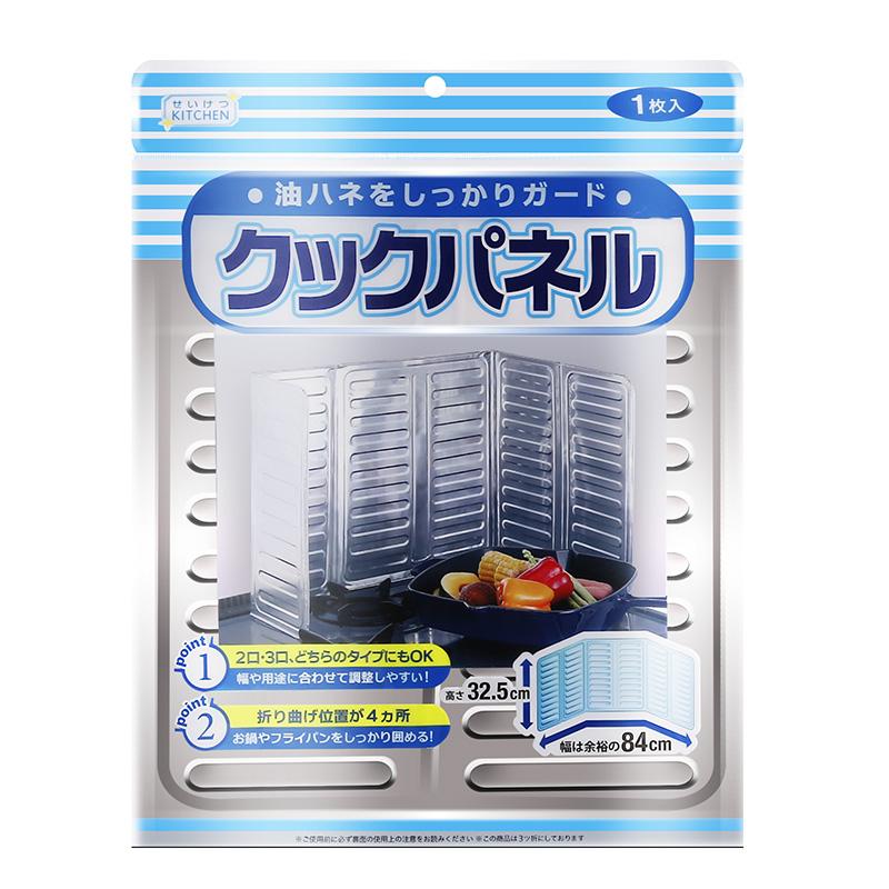 хобс масло на борда на кухнята газова печка с анти - масло чиния масло на преграда на алуминиево фолио в топлинна изолация и масло.