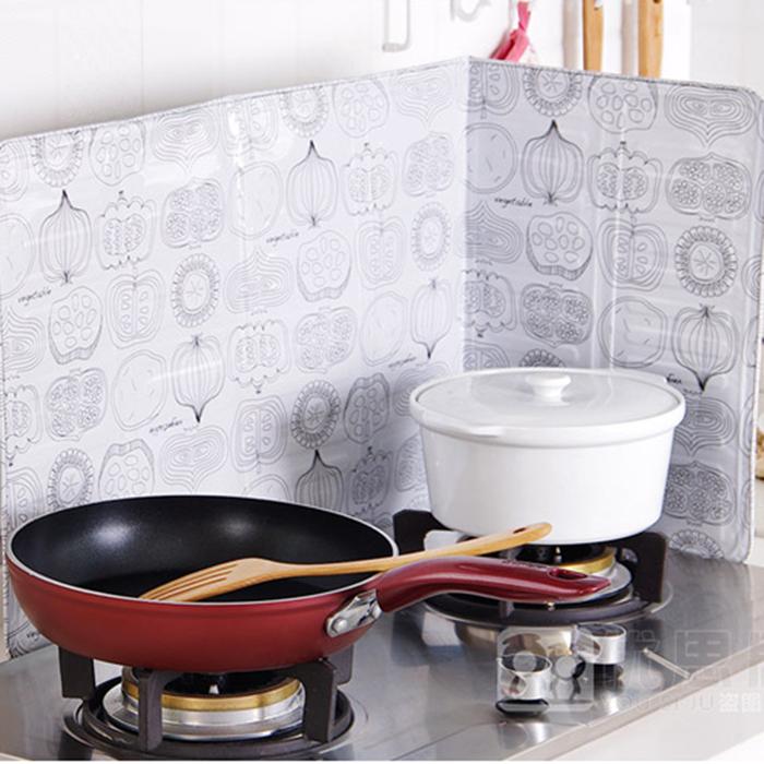 Folha de alumínio de Cozinha fogão de gás fogão de Placa de isolamento térmico, anti - óleo de fritar fumaça de vapor.
