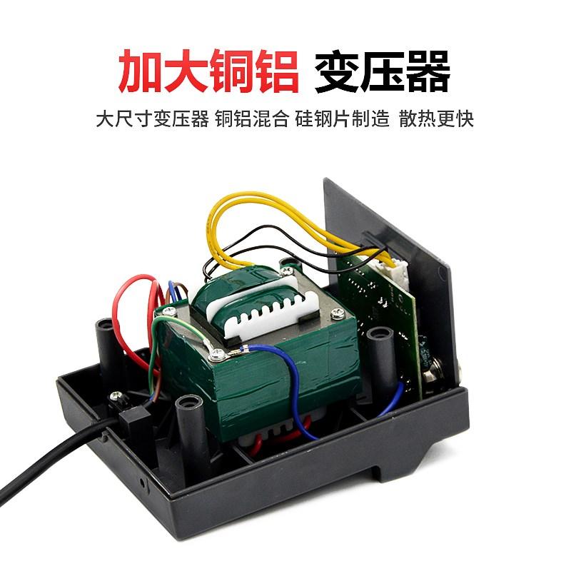 Electric iron set soldering iron, constant temperature adjustable household welding pen, iron welding tool 936 welding platform bake