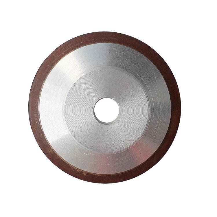 Diamante solo con la muela de carburo de tungsteno inclinado de Sierra de dientes de la rueda de disco abrasivo