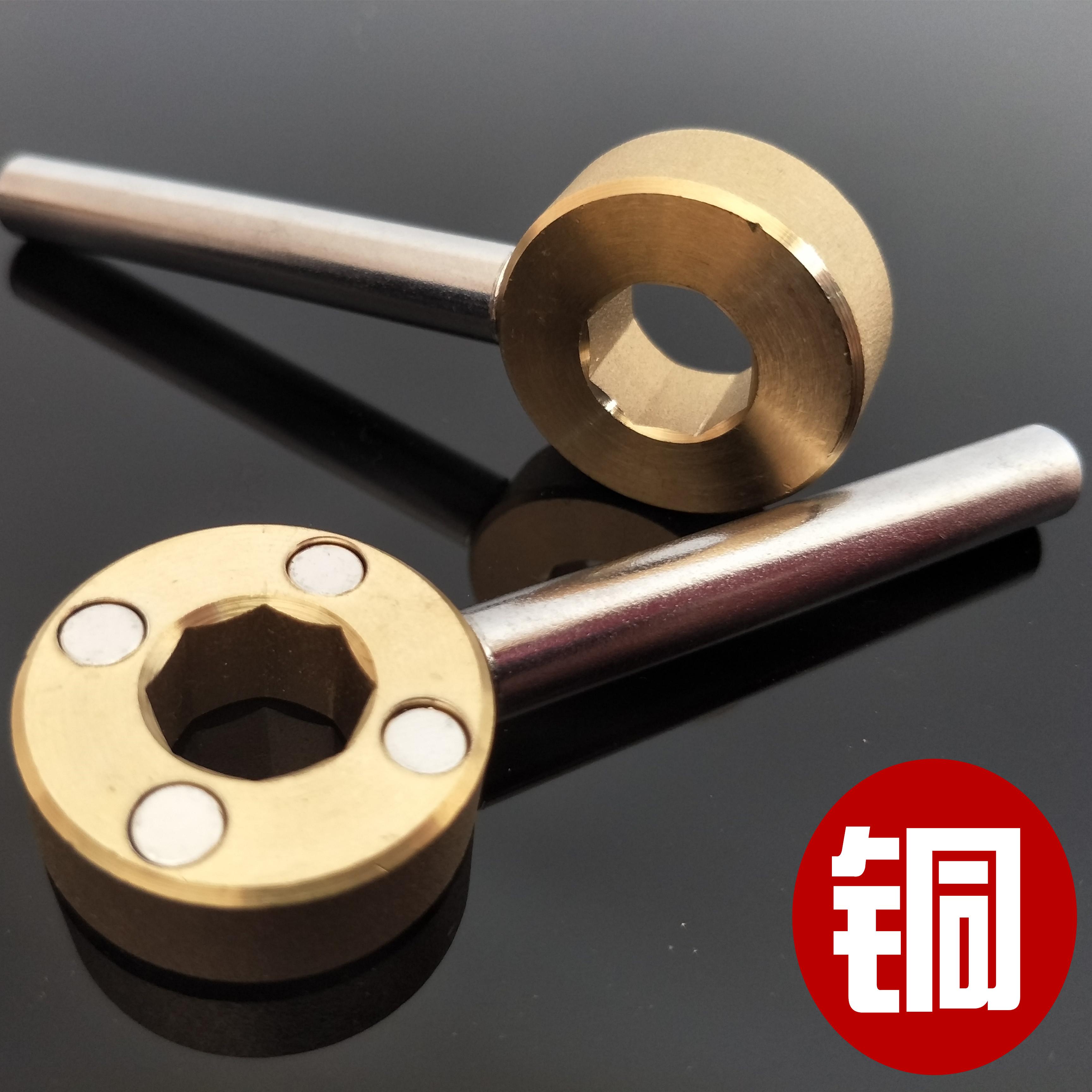 (хи) новой восьмигранной блокировки клапан клапан отопление ключ магнитный ключ клапан переключения счетчик воды водопроводной воды