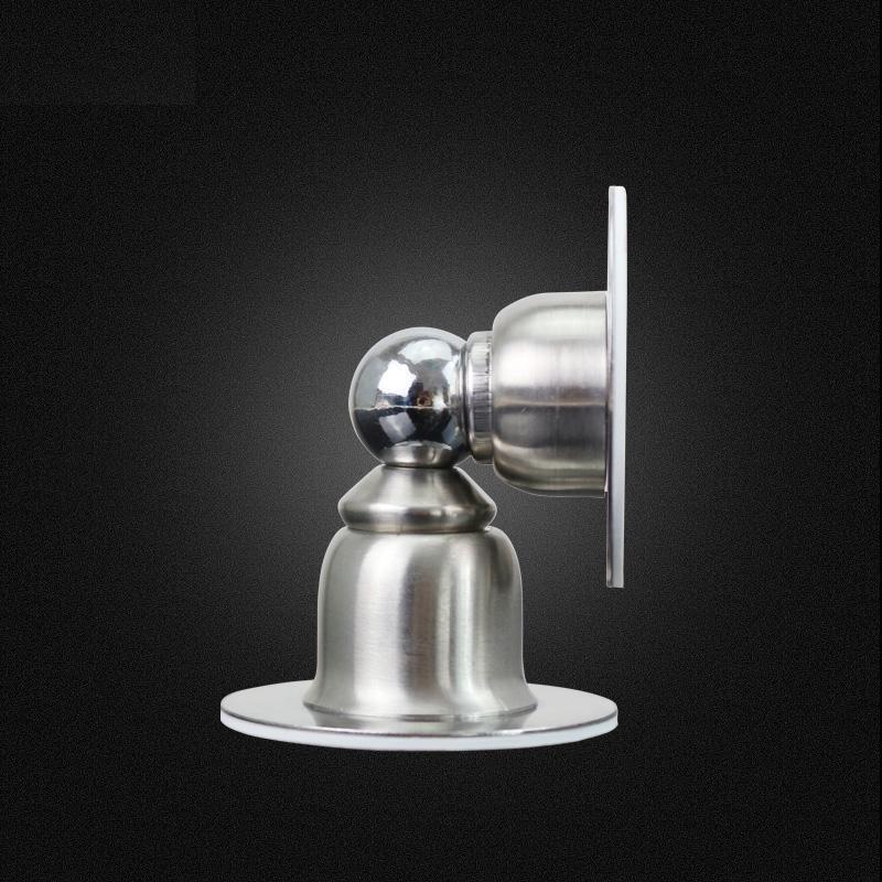 ツードア配置専用無枠ガラス戸電磁门吸消防電子门吸ステンレス