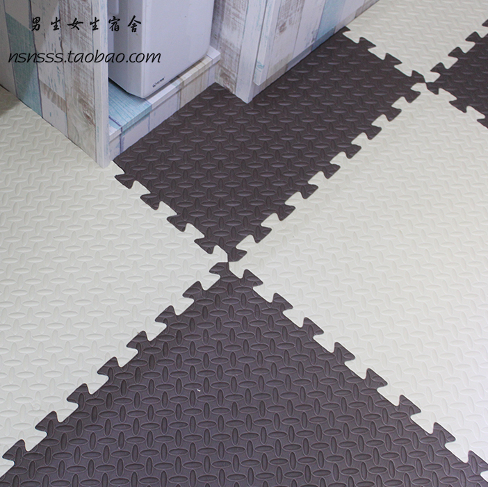 A new mosaic floor bedroom floor bedroom dormitory tatami home children crawling thickened foam