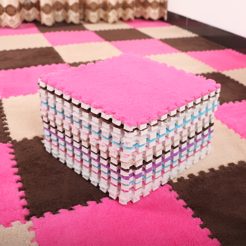 Children's Puzzle Foam pad can be washed by hand crawling pad stitching carpet floor bedroom bedside tatami mat household